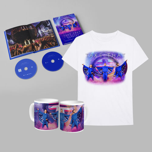 takethat: ODYSSEY GREATEST HITS LIVE LIMITED EDITION DVD + CD BUNDLE