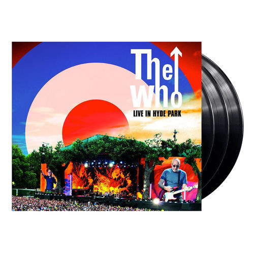 The Who: Live in Hyde Park 06.26.15 (DVD + 3LP)