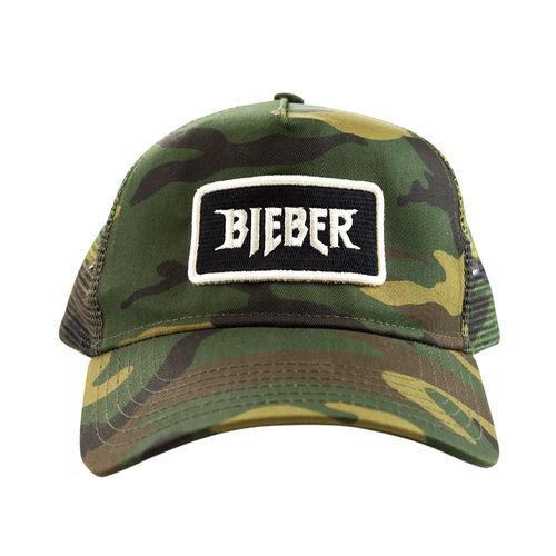 Justin Bieber: Camo Hat