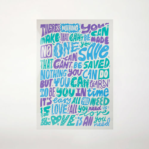 Abbey Road Studios: All You Need Is Love Poster