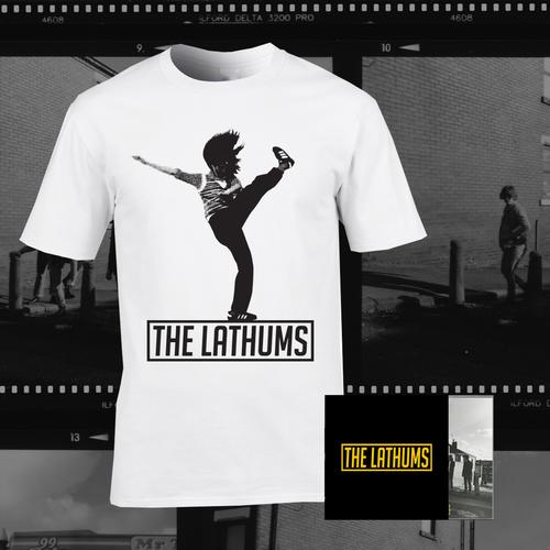 The Lathums: Stencil CD + The Lathums Album Tee Bundle