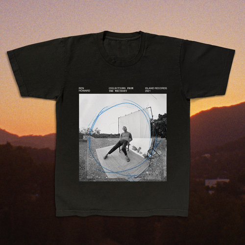 Ben Howard: Collections From The Whiteout: Album Tee (Black)