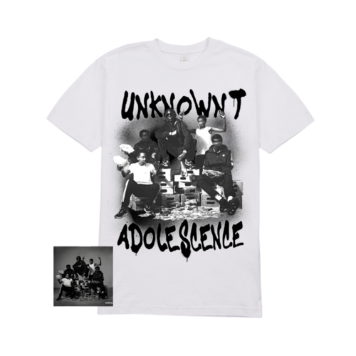 Unknown T: Adolescence Digital Download + Adolescence Tee