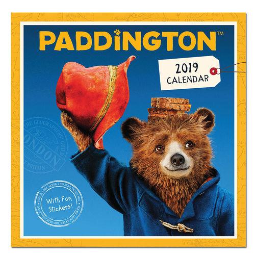 Paddington Bear: Paddington 2019 Square Calendar with Stickers