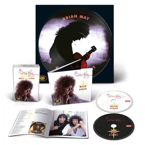 Brian May: Back To The Light Picture Disc Bundle