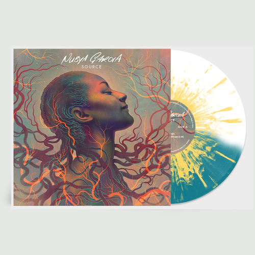Nubya Garcia: Source: Limited Edition Clear, Turquoise + Yellow Splatter Vinyl