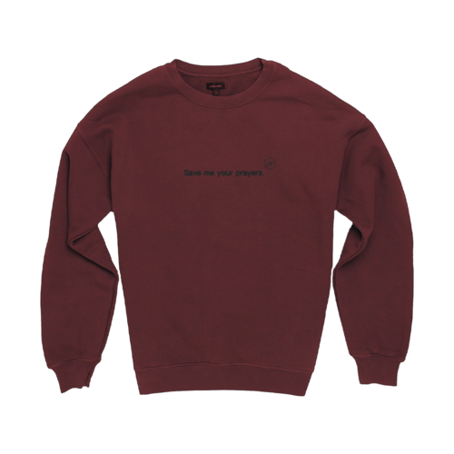 Halsey: Nightmare Crewneck (Burgundy)