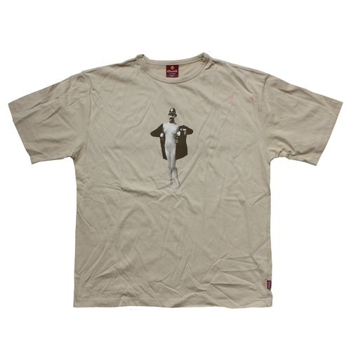 Monty Python: Naked Policeman Beige T-Shirt - Small