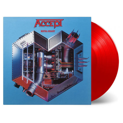 Accept: Metal Heart: Limited Edition Transparent Red Vinyl
