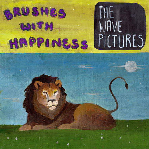 The Wave Pictures: Brushes with Happiness: Signed Violet Sparkle Vinyl