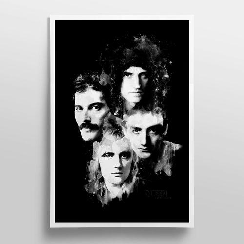 Queen: Queen Forever Lithograph