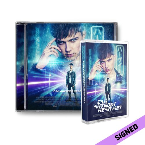 HRVY: Can Anybody Hear Me? Signed Deluxe CD & Cassette