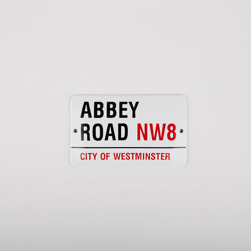 Abbey Road Studios: Abbey Road Small Street Sign