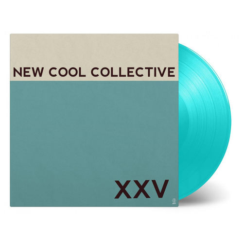 New Cool Collective: XXV: Turquoise Numbered Vinyl