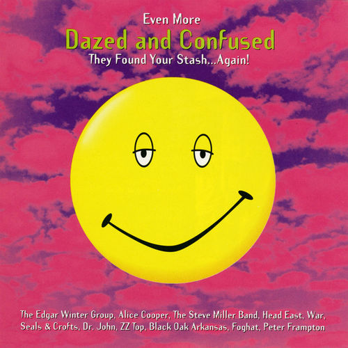 Various Artists: Even More Dazed And Confused: Music From The Motion Picture: Limited Purple With Pink Splatter Vinyl Edition