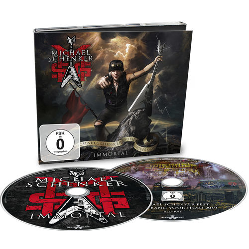 MSG: Immortal: Limited Edition CD/Blu-Ray Digipack + Signed Photocard