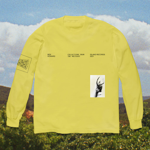 Ben Howard: Collections From The Whiteout: Ben Howard x Island Records: Yellow Longsleeve