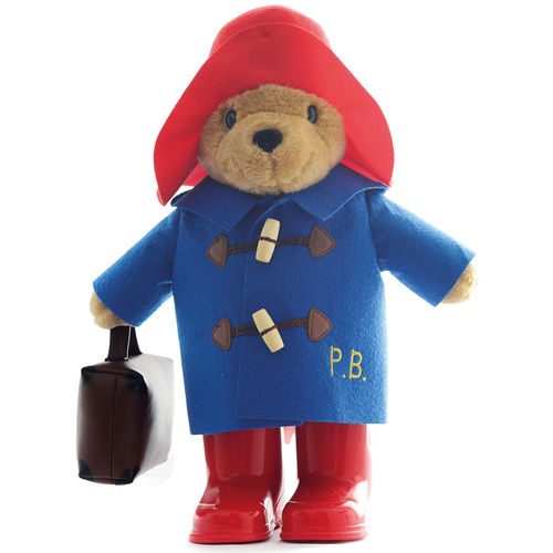 Paddington Bear: Large Paddington with Boots & Suitcase