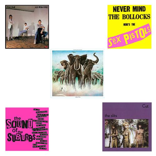 Various Artists: Punk & New Wave - Sex Pistols, The Jam, The Slits, Elvis Costello: Limited Edition Bundle