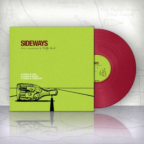 Rolfe Kent: Sideways - Burgundy Vinyl