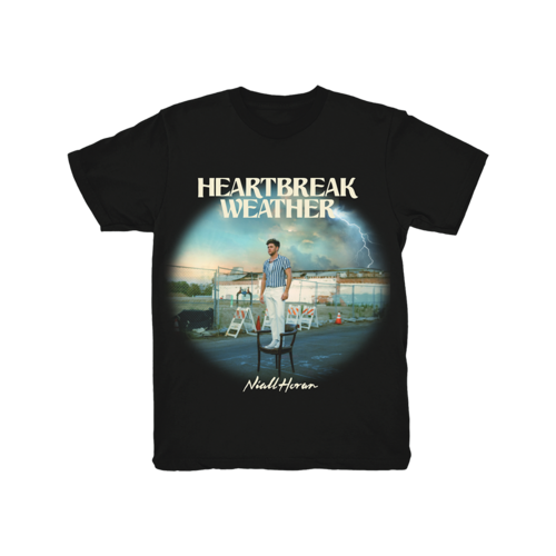 Niall Horan: Heartbreak Weather Black T-Shirt