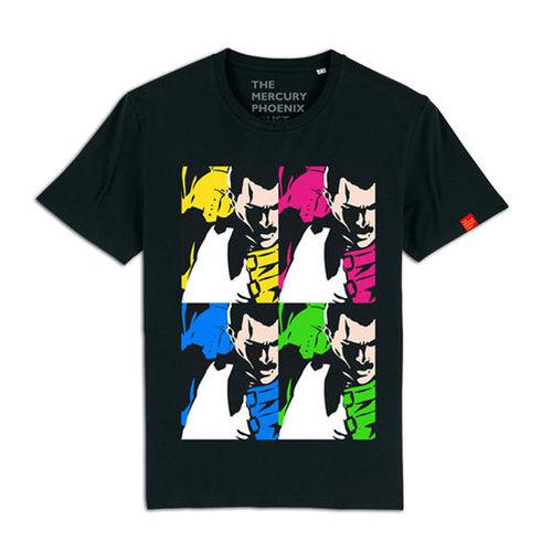 Freddie For A Day: Mercury Phoenix Trust Freddie Mercury 'Warhol Style' T-Shirt