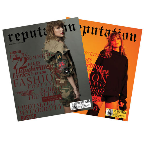 Taylor Swift: reputation (Volume 1&2)