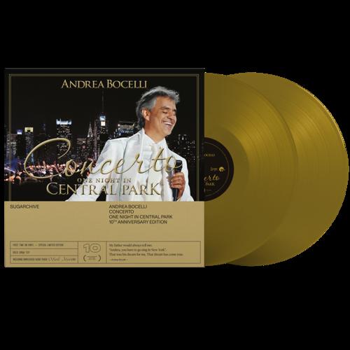 Andrea Bocelli: Concerto: One Night In Central Park - 10th Anniversary Edition Gold 2LP