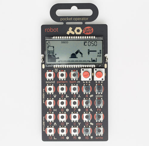 Abbey Road Studios: PO 28 Robot Pocket Synthesizer
