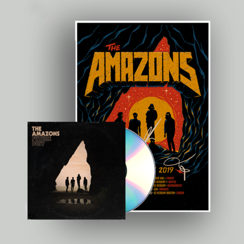 The Amazons: CD & Signed Tour Poster
