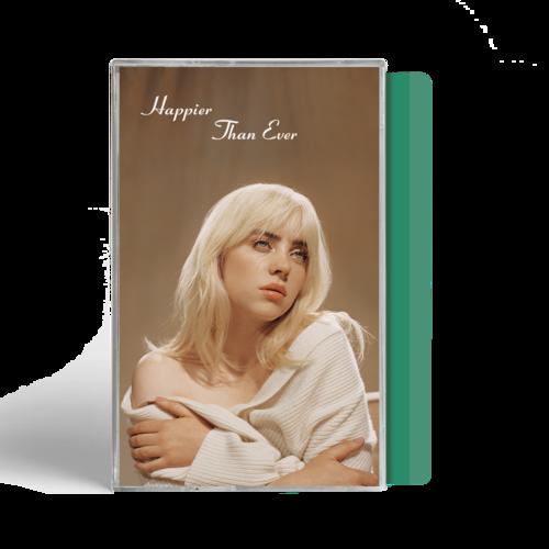 Billie Eilish: (SPOTIFY) 'Happier Than Ever' Exclusive Mint Green Cassette
