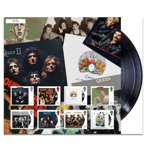 Queen: Album Covers Collection Fan Sheet