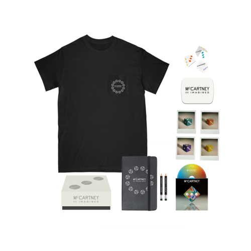 Paul McCartney: Paul McCartney - McCartney III Imagined - Limited Edition Box Set + Black Pocket T-shirt