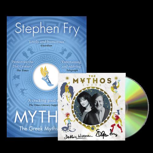 Stephen Fry and Debbie Wiseman : Mythos CD & Book Bundle