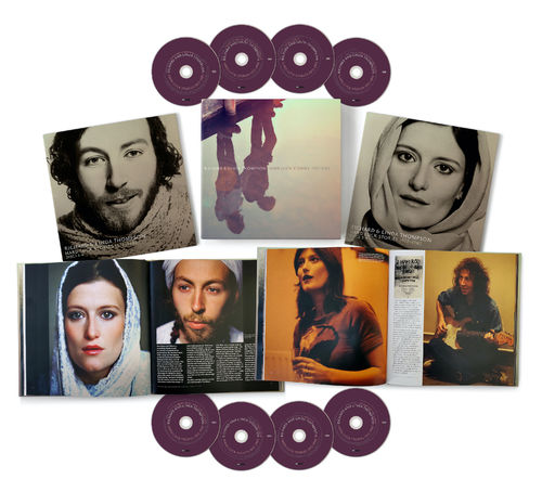 Richard and Linda Thompson: Hard Luck Stories (1972 - 1982): 8CD Box Set