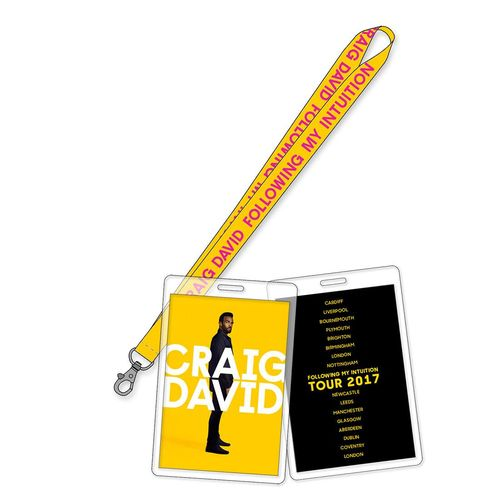 Craig David: FMI Tour 2017 Lanyard & Laminate