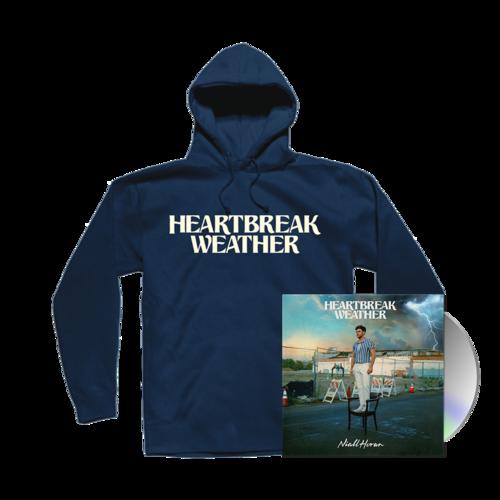Niall Horan: CD & HEARTBREAK WEATHER NAVY PULLOVER HOODIE