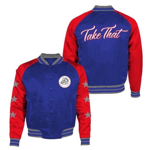 takethat: Greatest Hits Satin Bomber