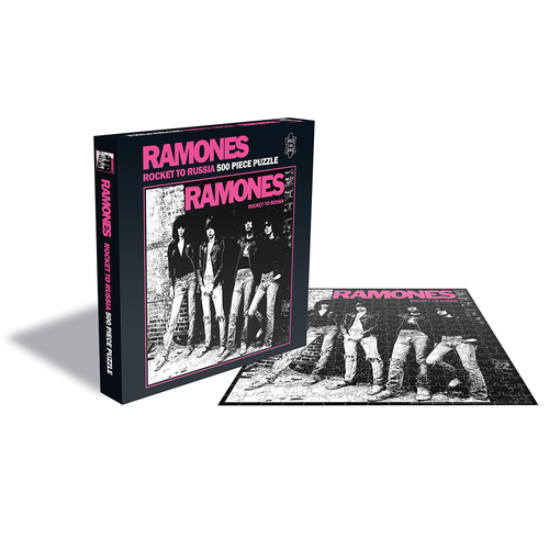 Ramones: Rocket To Russia (500 Piece Jigsaw Puzzle)