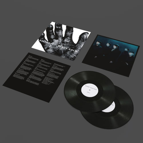 Editors: Black Gold - Best of Editors: Exclusive Vinyl with Signed Print