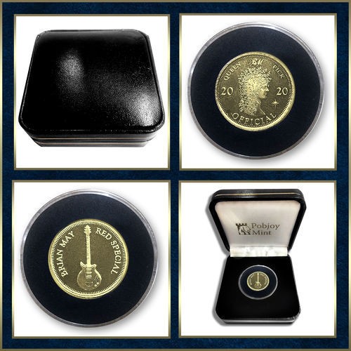 Brian May: 2020 Limited Edition Gold
