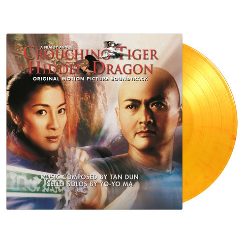 Original Soundtrack: Crouching Tiger, Hidden Dragon: Limited Edition Flaming Orange Vinyl