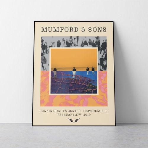 Mumford & Sons : N. America Delta Tour Print 2019