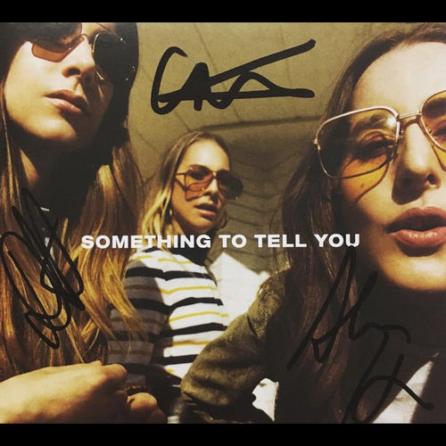 Haim: Something To Tell You Signed CD