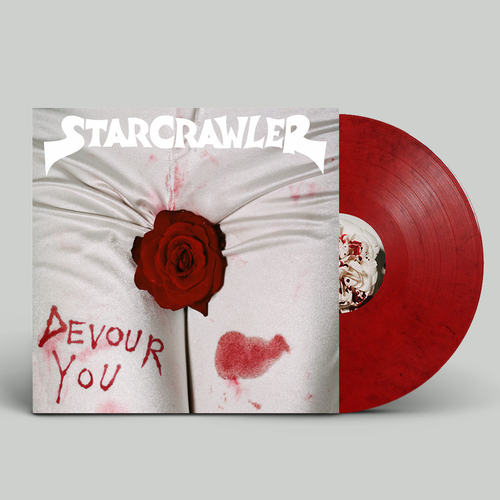 Starcrawler: Devour You: Limited Edition Blood Red Marble Vinyl with Scratch + Sniff Sleeve