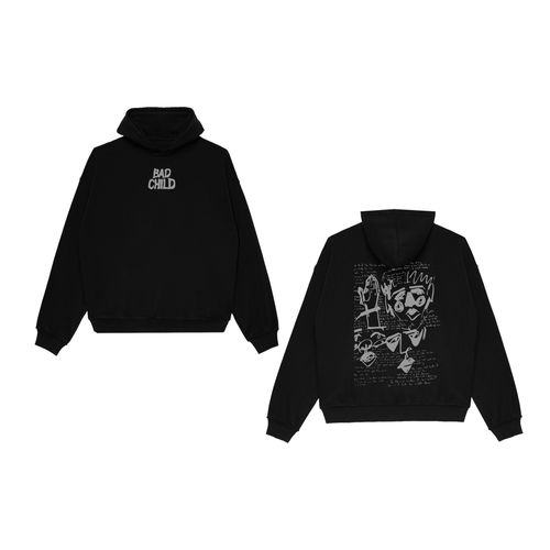 Bad Child: Free Trial Black Hoodie