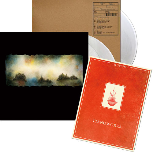 Eluvium: Pianoworks: Limited Edition Sheet Music & Iridescent Mother Of Pearl Triple Vinyl LP