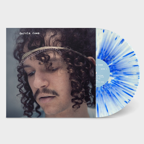 Darwin Deez: Darwin Deez, 10 Yearz: Limited Edition Blue and White Splatter Vinyl + Bonus 7