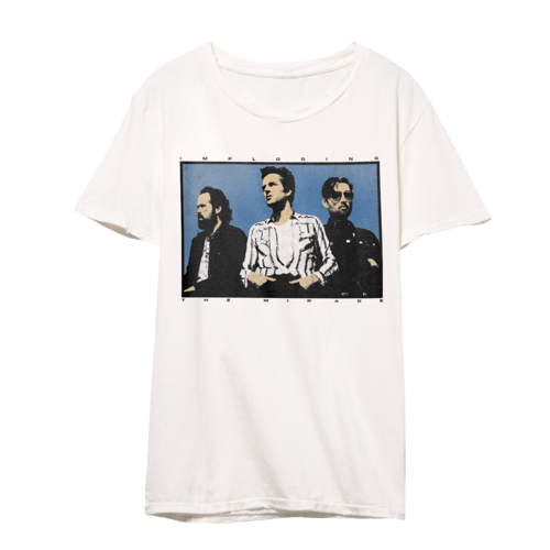 The Killers: Imploding the Mirage Band T-Shirt (White)
