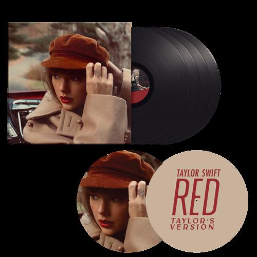 Taylor Swift: Red (Taylor's Version) Vinyl W/VINYL SLIP MAT